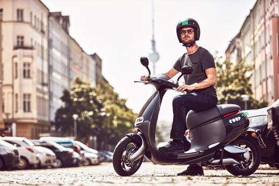 Gogoro拉风电动小摩托走上柏林街头