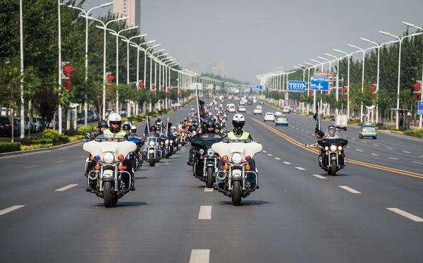 哈雷戴维森中国第八届全国车主骑行活动轰鸣启动