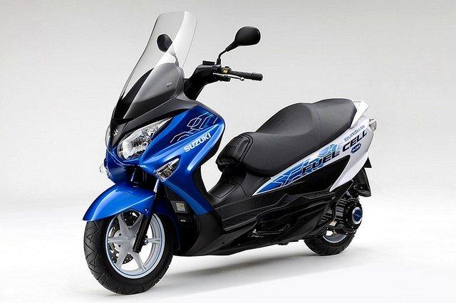 铃木有大动作!日本路试氢燃料电池摩托
