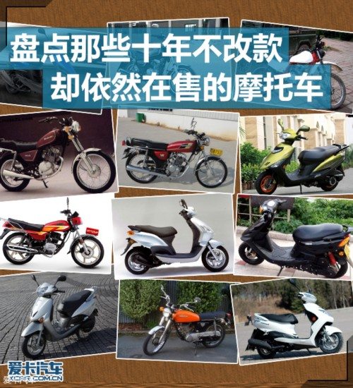 """""""活着的经典""""那些十年不改款仍在售的摩托车"""