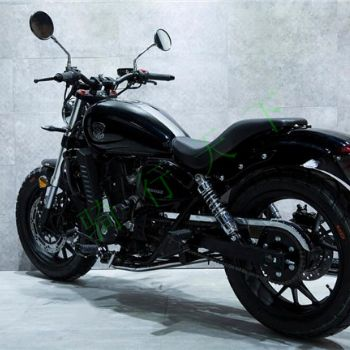 奔达FUN2 原驰兽BD400 390CC双缸水冷电喷 暴太子哈雷复古摩托车