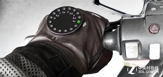 居然内置导航这款摩托车手套里大有乾坤