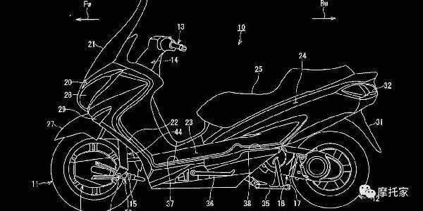 向汽车看齐,铃木正研发油电二驱摩托车