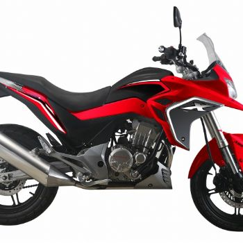 黄河自由300X摩托车