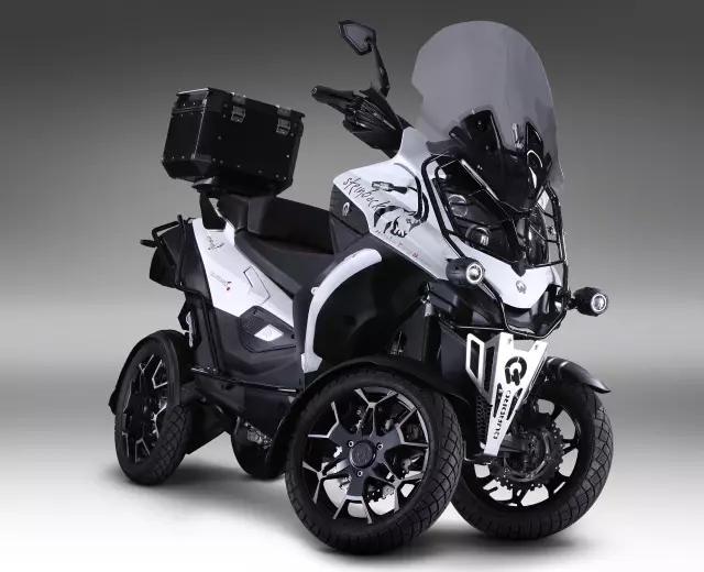四轮踏板QUADRO4欧洲上市 仅8.2万人民币?