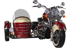 印第安 Indian 经典侧三轮