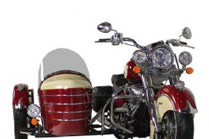 印第安Indian经典侧三轮车型大图