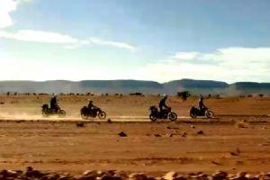 四位大叔的非洲之旅,令人神往的骑行!