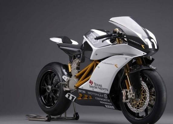 号称全球最快电动摩托车限量50台价格不菲