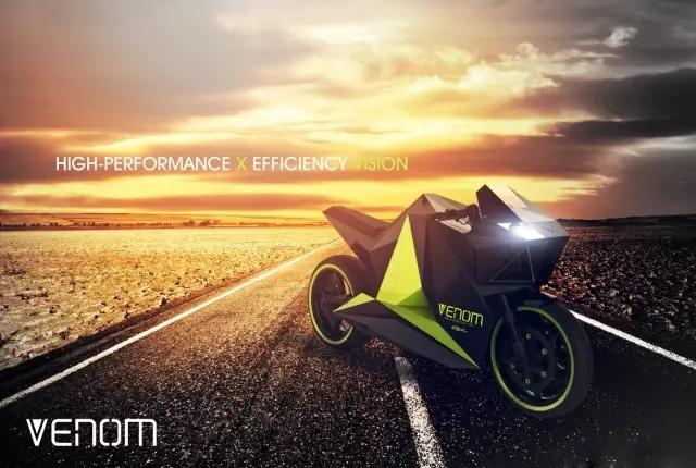 你觉得VENOM这款混合动力摩托车怎么样