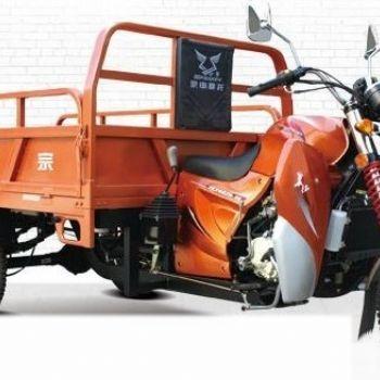 宗申q2长征工程款水冷三轮摩托车