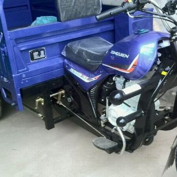 宗申q1太子150风冷三轮摩托车