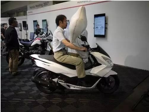 本田踏板车将配备安全气囊