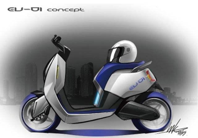 本田电气化进程加快通勤踏板电摩2018年上市
