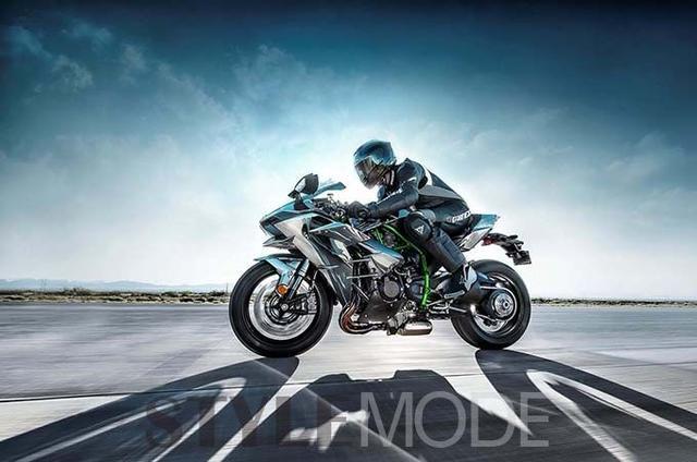 川崎NinjaH2,一款迈凯伦F1般的摩托车