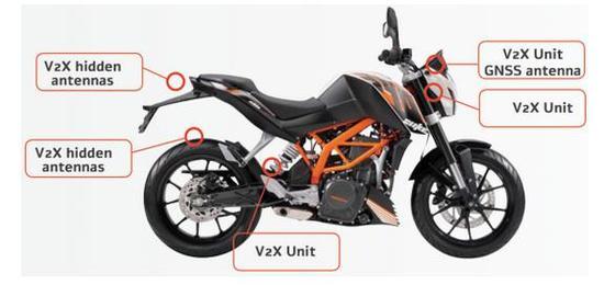 Autotalks推B2V方案降低摩托�事故�l生率