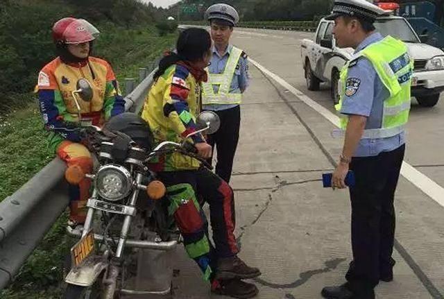 7月1日起,骑摩托车上高速?#21152;心?#20123;规定?