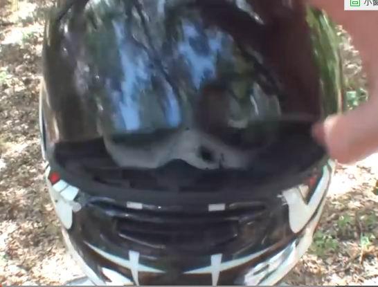 摩托车头盔能档子弹么?看了你就知道