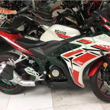 新感觉350摩托车RZ35双缸水冷电喷跑车XGJ300-6趴赛跑摩现货包邮