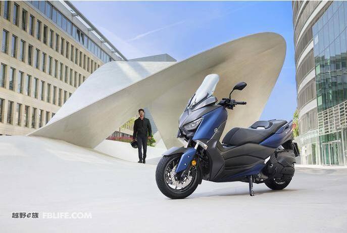 欧洲市场专供雅马哈发布2018款X-Max400