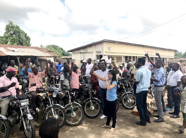 出海记|三雅在非洲多国同步开启巡回点检