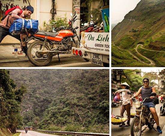 迷失越南:摩托��v行三千五百公里