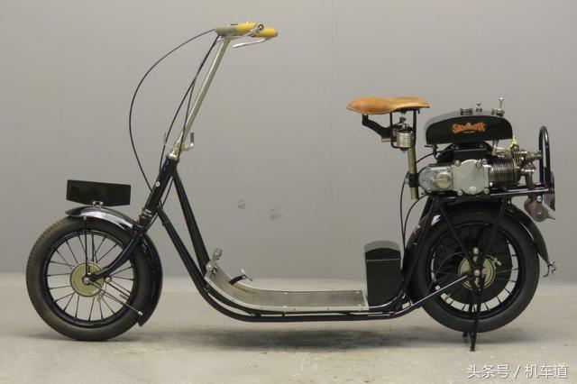 ABC斯库塔,比VESPA还早了50年的踏板车