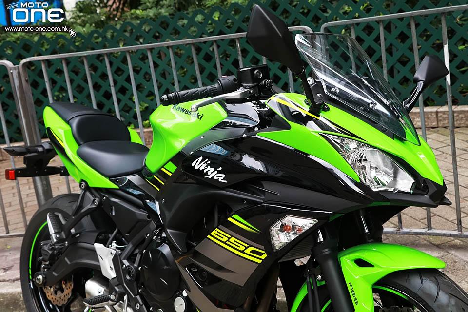Ninja 650 2017 >> 川崎2018款NINJA 650 ABS 珍珠灰新色及KRT特别版_牛摩网