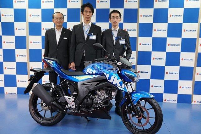 新一代入门街车铃木GSX-S125ABS东京发布