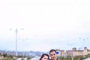 车轮上的爱情――兰州秋雨中的机车婚礼