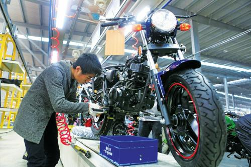 中国摩托9月份产销显著回温