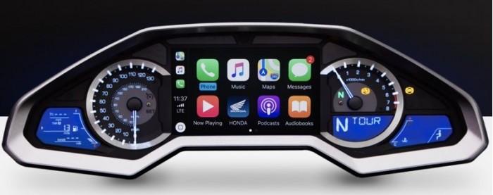 本田2018款金翼首款支持CarPlay的摩托车