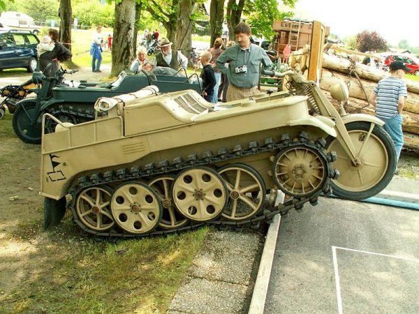 德国Sd.Kfz.2型半履带摩托车小传