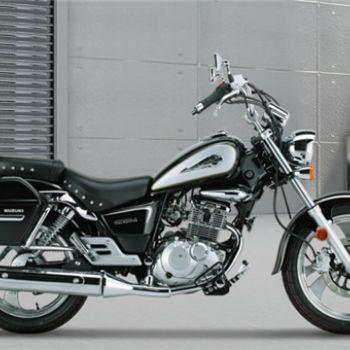 豪爵铃木gz150-a休闲太子摩托车