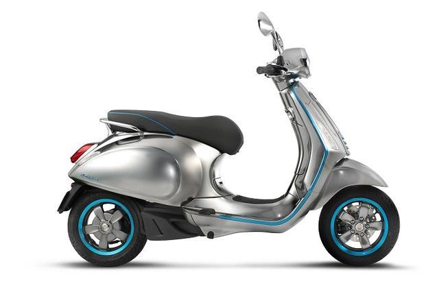 Vespa出电动车型了2018年正式上市