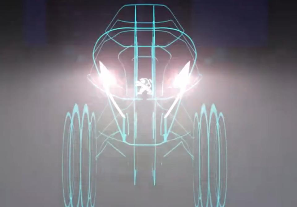 [2017米兰展]标致亮相倒三轮P3X概念车
