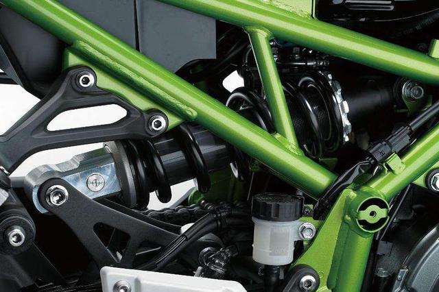 后摇臂支架设计缺陷川崎将召回Z900