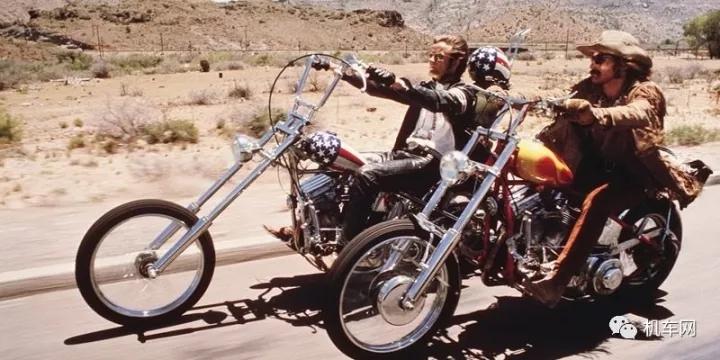 逍遥骑士们独特的摩托车-Chopper