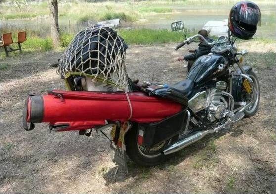 谨以此文献给摩托车钓友!