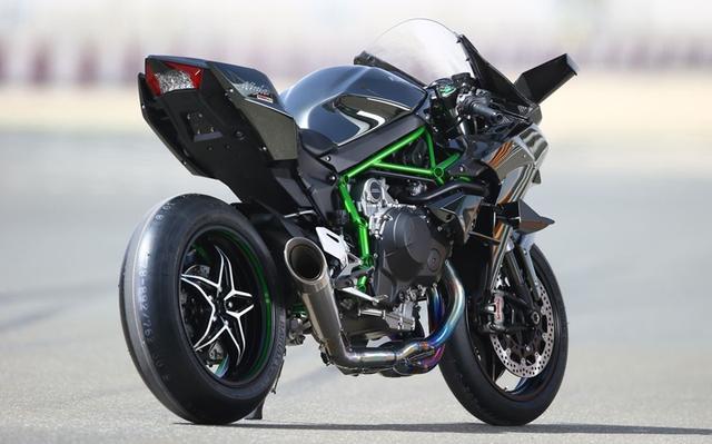 售价72万的川崎h2r 超级摩托