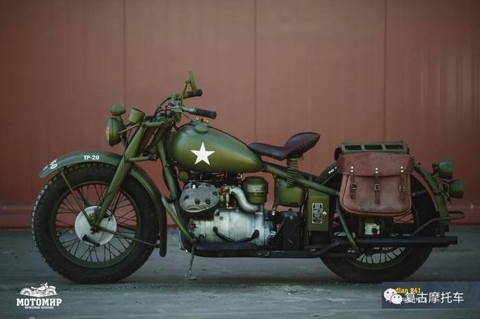 印第安841 一款二战期间的车型
