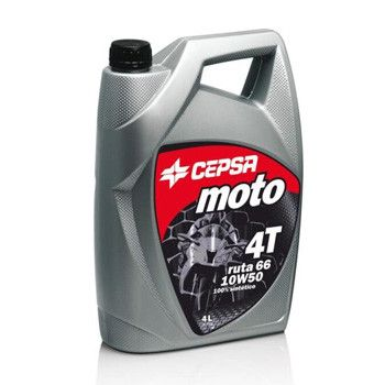 CEPSA力索西班牙进口10W50全合成摩托车机油4升