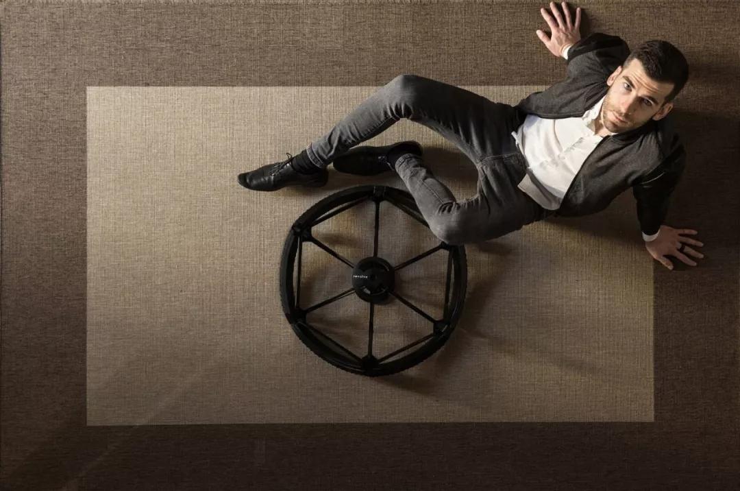 打破六千年以来的规则你看到过折叠车轮吗
