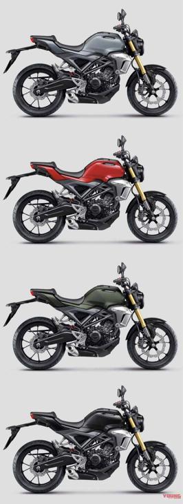 试驾报告新款本田CB150R小排量摩托车