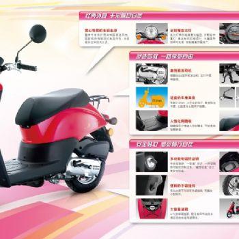 新大洲本田摩托车自由today50CC电喷踏板摩托车SDH50QT-43正品