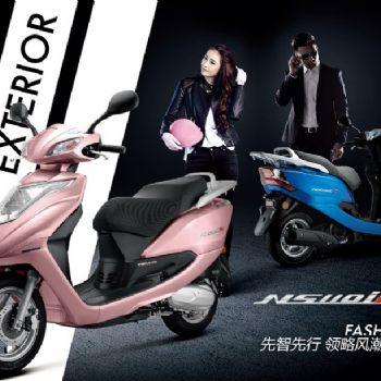 新大洲本田HONDA摩托车 NS110i FI 电喷踏板车摩托车新款全新上市