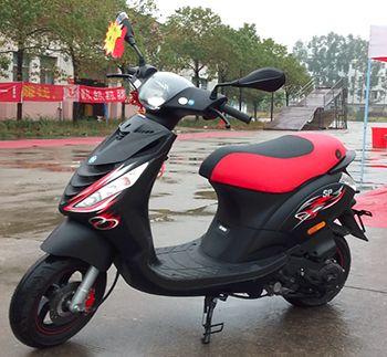 比亚乔踏板摩托车淑女灵活动力足时尚个性男女省油静音100cc整车