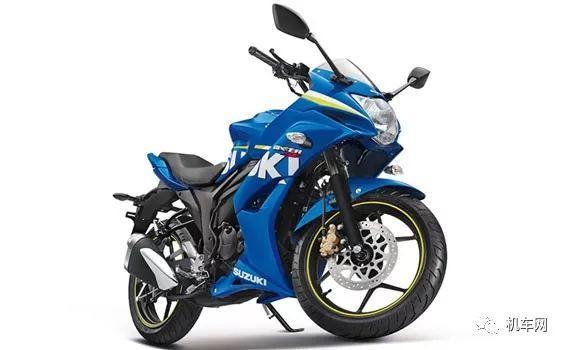 铃木Gixxer150印度发布上市售价不到九千