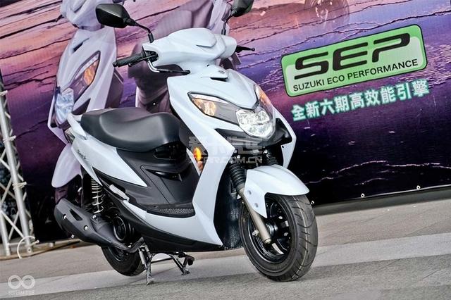 日本与台湾铃木联合发布SWISH125