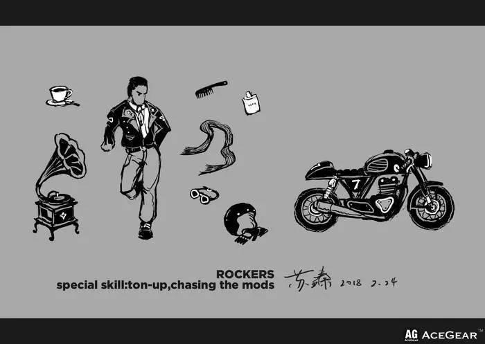 """""""摇滚骑士""""世界摩托车俱乐部档案(四)"""